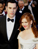 Sacha Baron Cohen and Isla Fisher Stock Photos