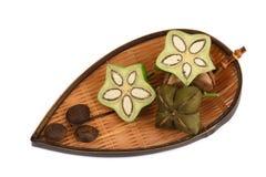 Sacha inchi, Sacha peanut, Inca peanut, Supra or Mountain peanut Plukenetia volubilis L.. Stock Images