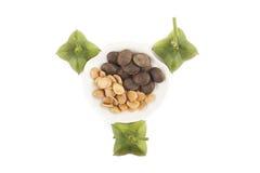 Sacha inchi seeds Stock Images