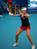 Sacha Jones in action at 2010 China Open Stock Image