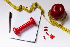 Sachen zur Gesundheit Stockfoto