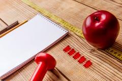 Sachen zur Gesundheit Stockbild