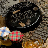 Sacher Cake Royalty Free Stock Image