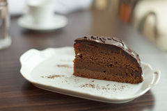 Sacher cake Stock Photography