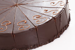 Sacher cake Royalty Free Stock Image