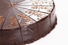 Sacher cake Royalty Free Stock Photography