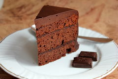 Sacher cake Stock Image