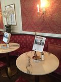 Sacher del hotel y del café Fotografía de archivo libre de regalías