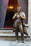 Sacher-Masoch statue Stock Photography