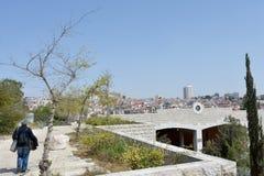 Sacher parkerar Jerusalem, Israel royaltyfria bilder