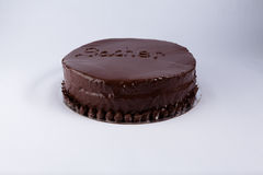 Sacher tort Obraz Royalty Free