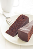 Sacher tort Obrazy Stock