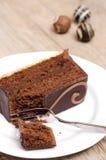 Sacher torte Stock Images