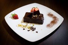 Sacher torte Stock Foto's