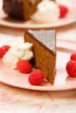 Sachertorte Stock Photography