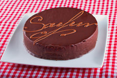 Sachertorte Royalty Free Stock Photos