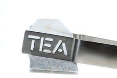 Sachet à thé Photographie stock