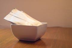 Sachet à thé dans cup1 Photos stock