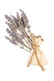 Sachet with aroma lavender Stock Photo