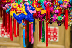 Sachets of The Dragon Boat Festival Stock Photography