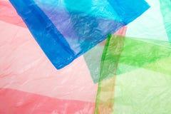 Sachets en plastique images libres de droits