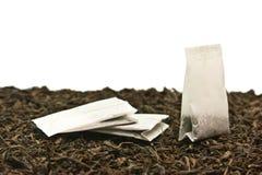 Sachets à thé Photographie stock libre de droits