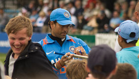 Sachin Tendulkar Royalty Free Stock Photography