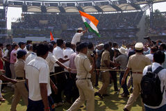 Sachin Tendulkar Retires. Indian cricketer Sachin Tendulkar retires from the game in Mumbai royalty free stock photo