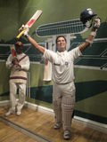 Sachin Tendulkar wax statue Stock Photo