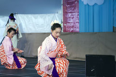Sachiyo Ito Dance Company at Brooklyn Botanic Garden Royalty Free Stock Photo