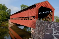 Sachs Covered Bridge Stock Images