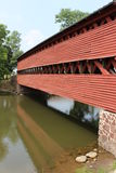 Sachs Covered Bridge Stock Photography