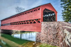 Sachs Covered Bridge Royalty Free Stock Photos