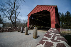Sachs Covered Bridge Stock Photo