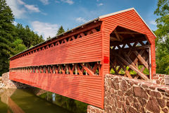 Sachs Covered Bridge Royalty Free Stock Image