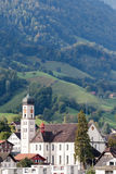 SACHSELN, SUISSE L'EUROPE - 22 SEPTEMBRE : Vue de St Theodu photo stock