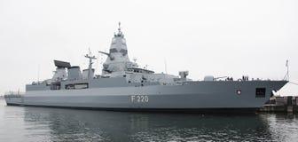 Sachsen-class frigate F220 Hamburg Royalty Free Stock Image