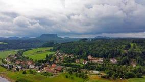 Sachsen szwajcar, Niemcy Obrazy Stock