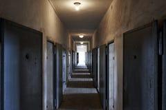 Sachsenhausen-Gefängnis in Deutschland lizenzfreie stockbilder