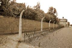 Sachsenhausen nazi kamp stock afbeeldingen