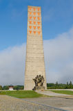 Sachsenhausen. Orani enburg concentration camp, Soviet Liberation Memorial, Germany Stock Photo