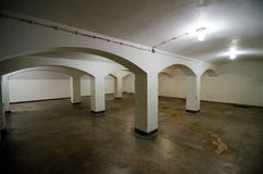 Sachsenhausen. Orani enburg was a Nazi concentration camp in Germany, morgue which is now a Museum Stock Photo