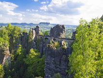 Sachsische Schweiz Royalty Free Stock Photo