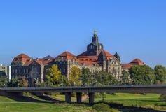 The Sachsische Staatskanzlei (Saxon State Chancellery), Dresden Stock Photography