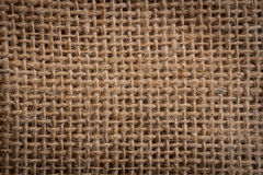 Sack background. Texture of an old, dirty potatoes sack Royalty Free Stock Images
