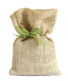 Sack bag isolated on white Stock Photo