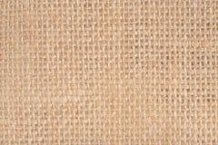 Sack cloth textured background closeup Stock Photo