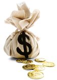 Sack With Dollar Sign Stock Image