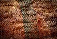 Sack fabric close Royalty Free Stock Photo