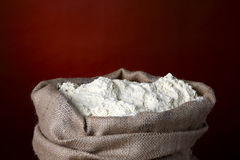 Sack of flour Royalty Free Stock Photo